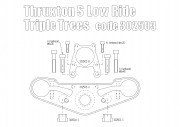 Lowering Triple Trees for Triumph Thruxton Standard 2016 up