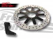 Triumph Street Twin/Cup/Scrambler, Bobber & T100 2016 up - Upgrade floating front brake rotor kit