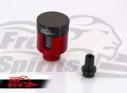 Brake fluid reservoir direct mount for Triumph (Red)