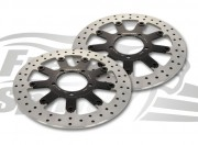 Triumph Tiger 800 - OEM alternative front brake rotors & pads - KIT