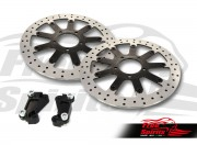 Triumph Speed Twin - Upgrade front brake rotors kit (340 mm) & pads