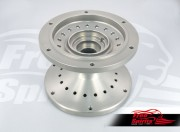 Dual disc front hub for Triumph Classic (Silver)