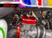 Triumph Classic EFI (Electronic Fuel Injection) covers (Red)