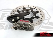 Triumph Street Twin & Street Cup rear Up Grade Floating Rotor and 4pot Caliper kit (Titanium)