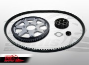 Belt drive conversion for Triumph America & Speedmaster
