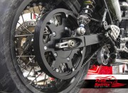 Belt drive conversion for Triumph Bonneville (Black)
