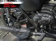 Belt drive conversion for Triumph Bonneville T120 (Black)