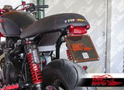 License plate & Undertray (Lucas) for Triumph Classic