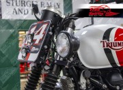 Side light bracket kit for Triumph Classic