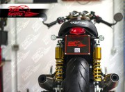Undertray & license plate (Lucas E11) for Triumph Thruxton 1200