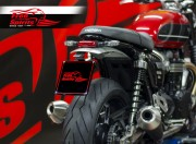 License plate Short Cut (Italy) for Triumph Speed Twin