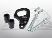Ignition switch relocation bracket for Triumph Classic (Right - Black)
