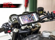 Mobile and Navigator Supports for Triumph Classic 2016 up - KIT
