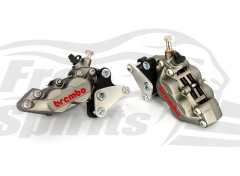 Front brake caliper 4 pot (Titanium) kit for Harley Davidson XG Street Rod