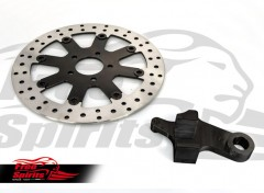 Harley Davidson Sportster 2014 up - Rear brake rotors kit (300 mm) & pads