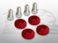 Triumph Classic damper kit plugs (Red)