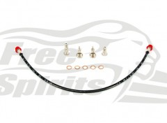 Triumph Braided Front Brake Line for kit 303901 & 303903
