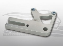 Rear Caliper relocation bracket for Triumph Scrambler & Thruxton (Silver)