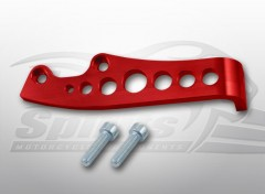 Master cylinder guard for Triumph Scrambler (Red)