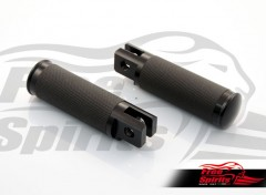 Footpegs for Triumph Scrambler & Bonneville (Black)