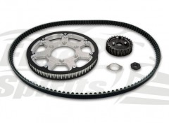 Belt drive conversion for Triumph Street Twin/Cup/Scrambler & T100 (Silver)