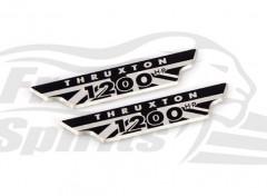 Triumph Thruxton 1200 crankcase badge