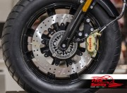 Bolt-in Upgrade braking kit for Indian Scout (4p. caliper & rotor diam. 320 mm)