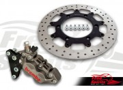 Front brake caliper 4 pot for Triumph Thruxton