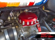 Couvercles (Rouge) Triumph Classic EFI (Electronic Fuel Injection)