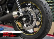 Kit frein arriere Brembo 4 pistons (Or) pour Triumph Street Twin & Street Cup