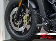 Bolt-in kit frente para Indian Scout (Disco diám. 320 mm y pinza 4p.)
