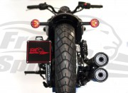 Soporte matricula lateral para Indian Scout - KIT
