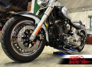 Harley Davidson Sportster 00-03, Dyna 00-05 y Softail 00-14 - Kit disco de freno 320 mm y pastillas - KIT