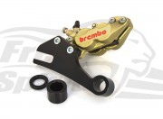 Rear brake caliper 4 pot kit for Harley Davidson XR1200