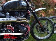 "Transformaciòn ""30 plus"" off-road horquillas Triumph Classic"
