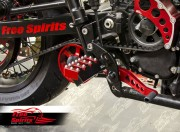 Estribos Off-road para Scrambler & Bonneville