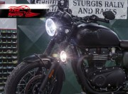 Kit faro lateral (Bajo) para Triumph New Classic