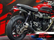 Soporte matricula Short Cut (Italia) para Triumph Speed Twin