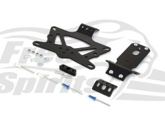 Soporte matricula Short Cut (UK/USA/AUS/Francia) para Triumph Speed Twin